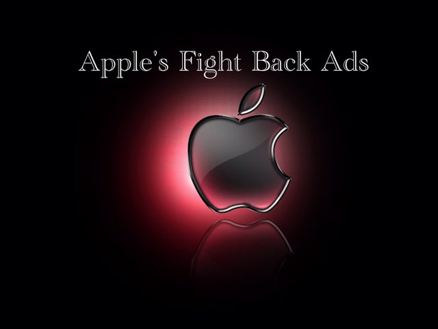 Donate To Apple To Fight Back Ads by Mi Guerra