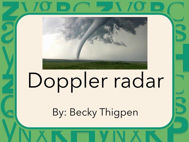Doppler radar by Cristina Chesser