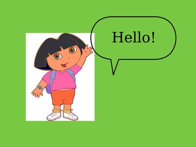 Dora Keeping Fit by Shymaa Attya
