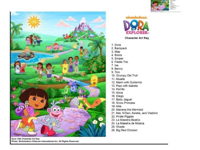 Dora Puzzle by Jess Lewis