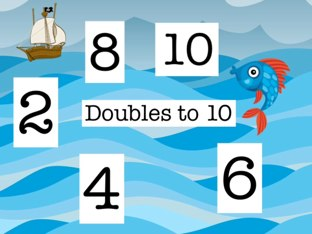 Doubles To 10 by Mrs Kelly