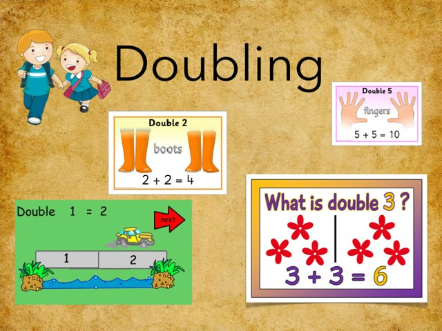 Doubling Numbers by Gavin Thomas