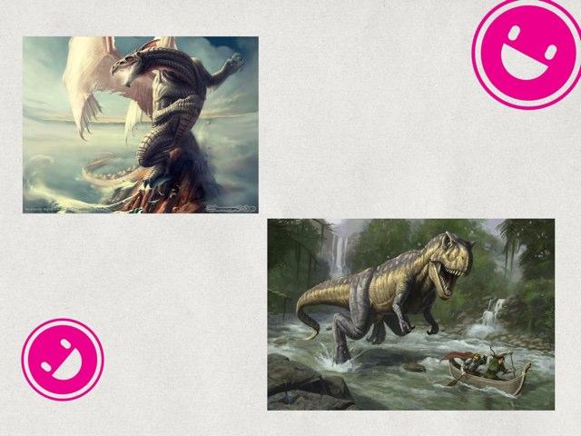 Dragons & dinosaurs by uri lazar