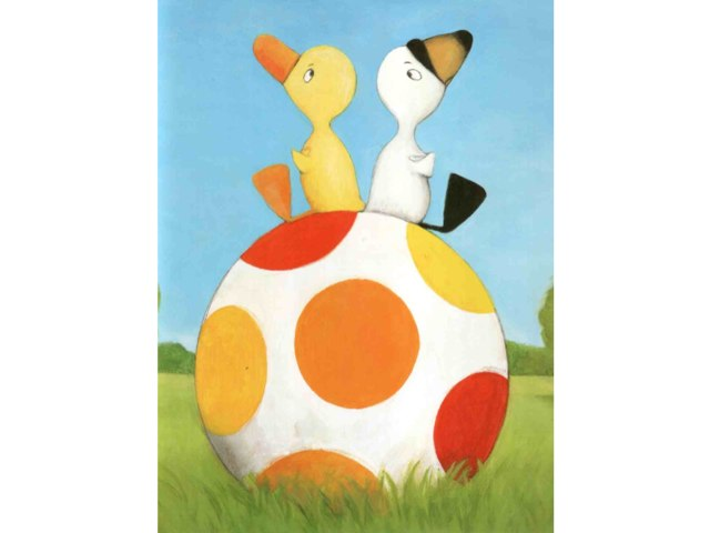 Duck Puzzle KG B by Debby Cynthiana