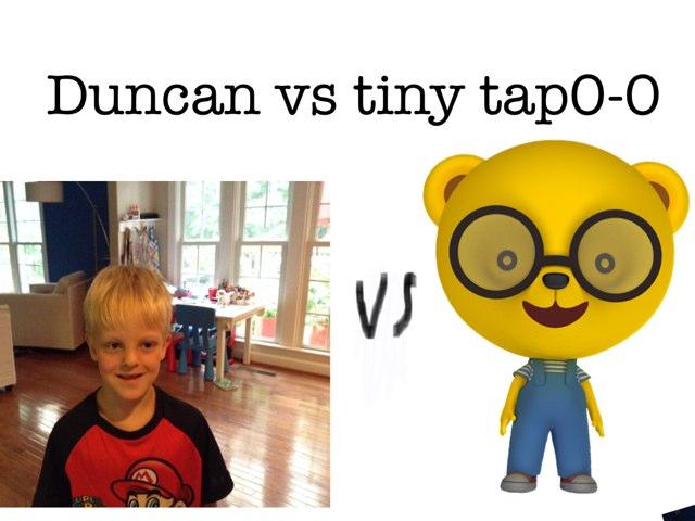 Duncan Vs Tiny Tap 0-0 To 3 by Jennie Byrne