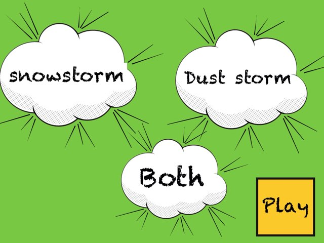 Dust Storm Or Snow Storm by Safaa Mohamed