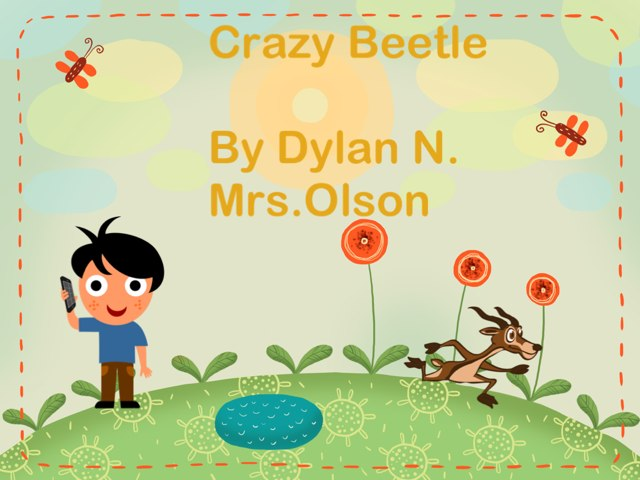 Dylan' Beetle Project by Stephanie Olson