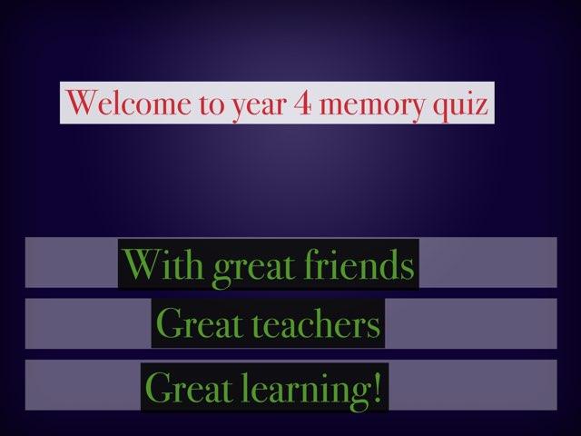 Dylan's Year4 Quiz! by Mr Matthews