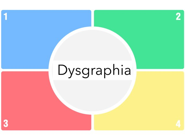Dysgraphia by Annie Kuhn