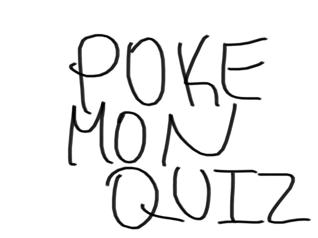 Pokémon Quiz EXTREME by Jay Santiago
