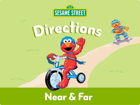 Near & Far by Sesame Street by Tiny Tap