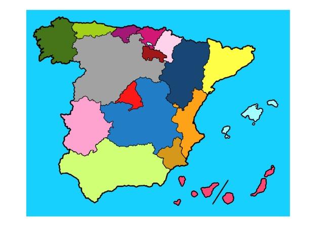 Comunidades Autonomas by Blanca Lopez Cediel