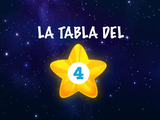 La Tabla del 4 by Ceipbalaidos Balaidos