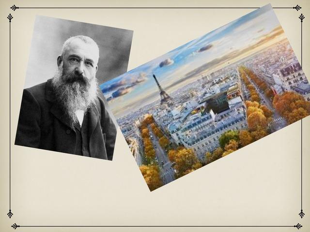 Oscar Claude Monet by Simon Carignan