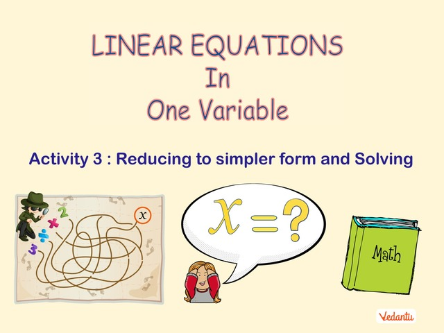 G8 Linear Equations In One Variable 3 by Manish Kumar