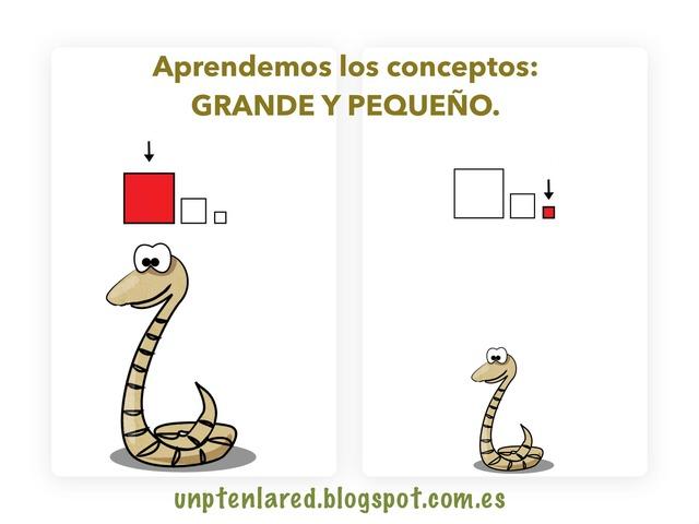 Aprendemos Los Conceptos: Grande Y Pequeño. by Jose Sanchez Ureña