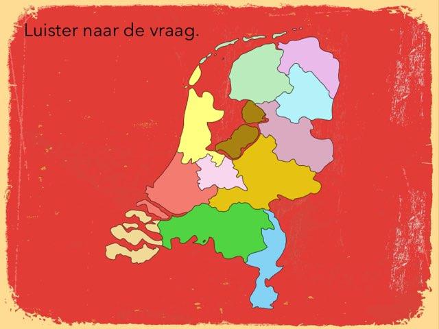 Provincies en hoofdsteden van Nederland by Sandra van Elburg
