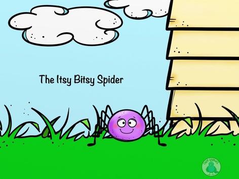 The Itsy Bitsy spider by Christina