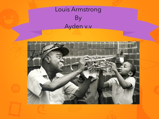 Louis Armstrong By A.V.V. by Christine Snow