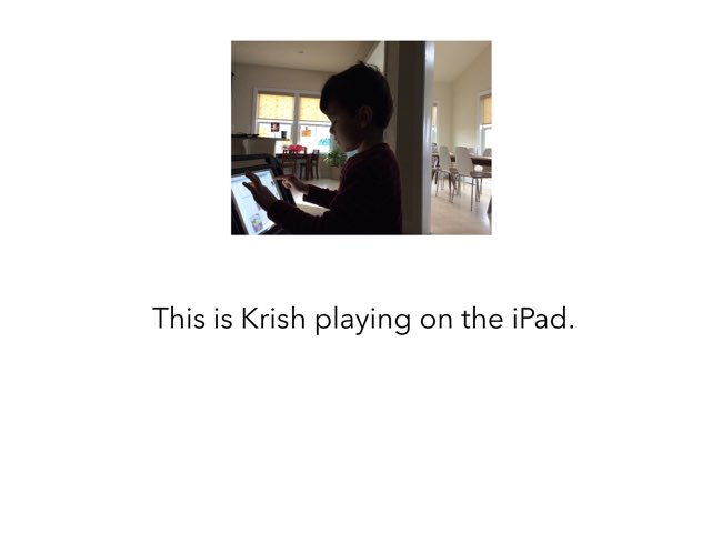 Krish iPad by Joy Wilson