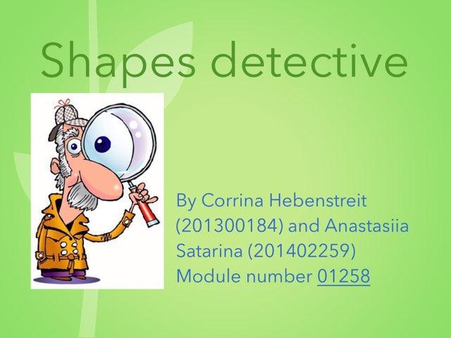 Early Shape Recognition, By Anastasiia Satarina And Corrina Hebenstreit by Anastasia Tsvetanovna