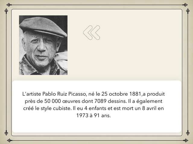 Picasso by Rousseau Mathieu