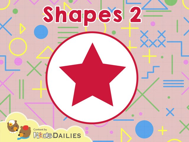 Shapes 2 by Kids Dailies