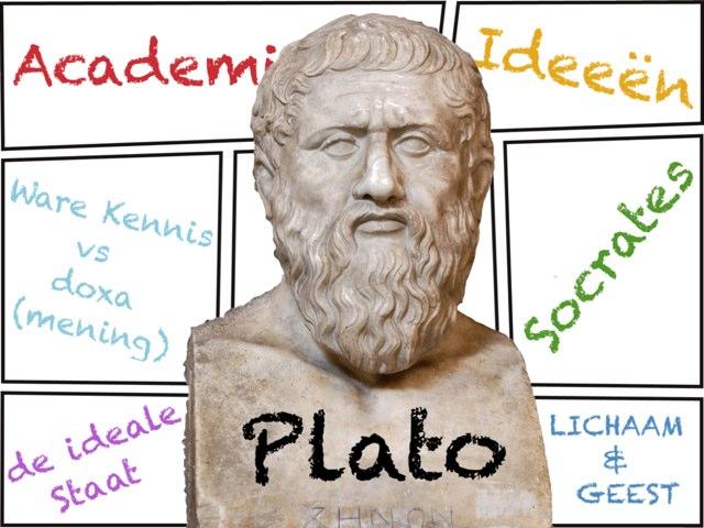 Plato, filosoof by Caspar Middeldorp