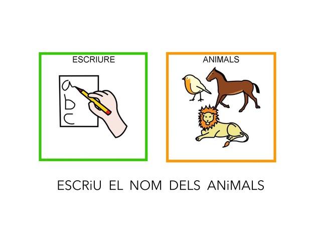 Animals 3_Confegir el nom by Escola Joan23