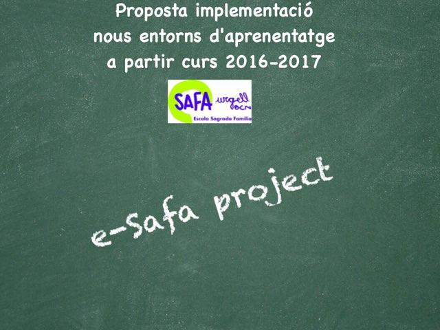 Proposta E-safa Project by ramon martin