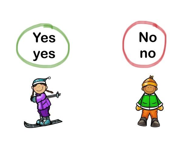 Yes No by Heidi Bosco