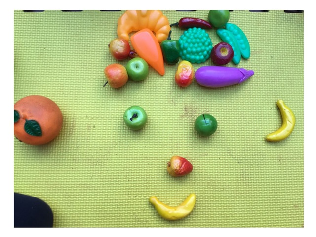 Fruit And Vegetables Face by Thomas Jefferson