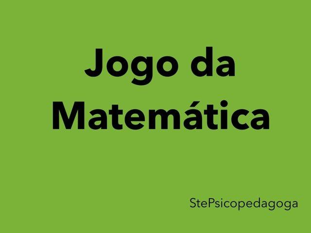 Jogo Da Matemática  by ۞Ste Lonza