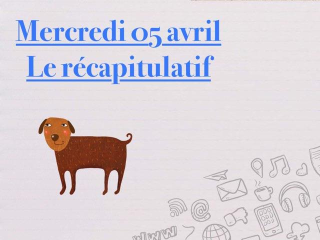 A - Mer05 - Récapitulatif  by Caroline Gozdek