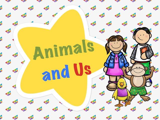 Animals And Us by Sara Alzahrani