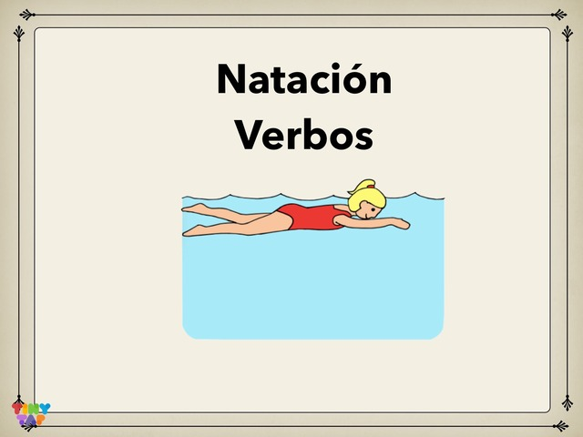 Natación Verbos by Rodica Harvey