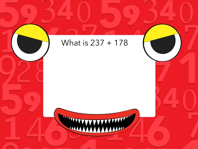 Monster Math by Aidan Pendergast