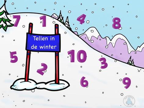 Tellen in de winter by Nelleke Lürsen