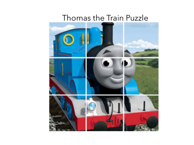 Thomas The train by Charlotte Mitchell