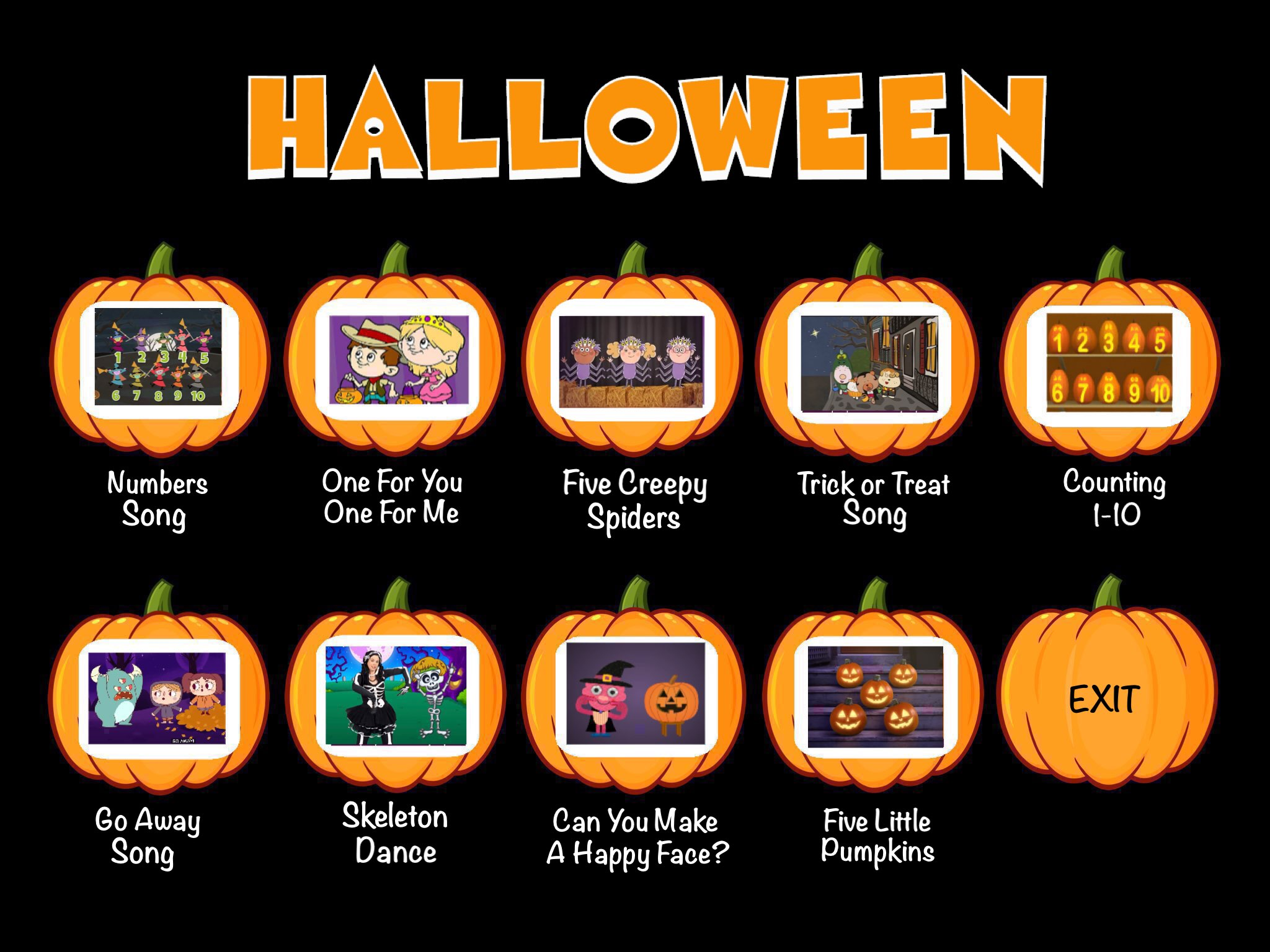 Halloween course by Tiny Tap - TinyTap
