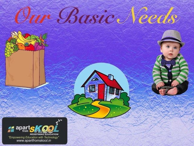 Our Basic Needs by TinyTap creator