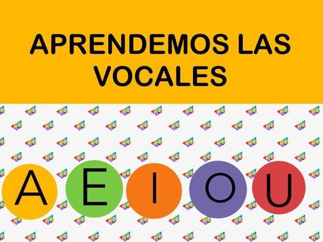 Aprendemos las Vocales by Jose Sanchez Ureña