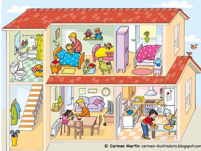 Het Huis - Zoekplaat by Lola Vanderweyen