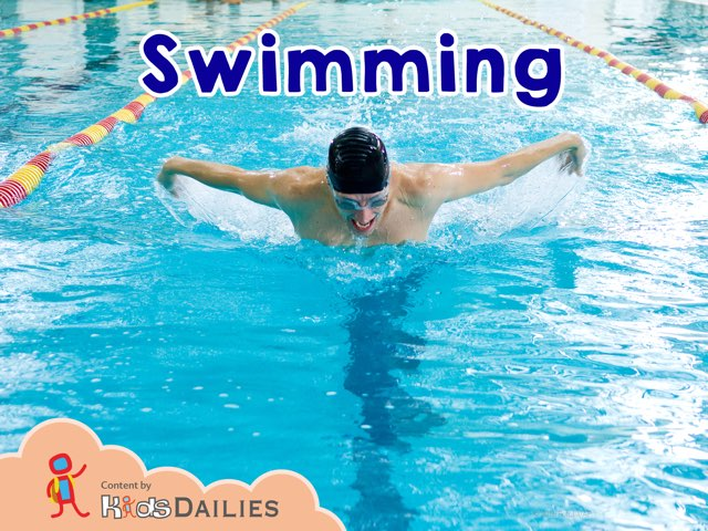 Swimming by Kids Dailies