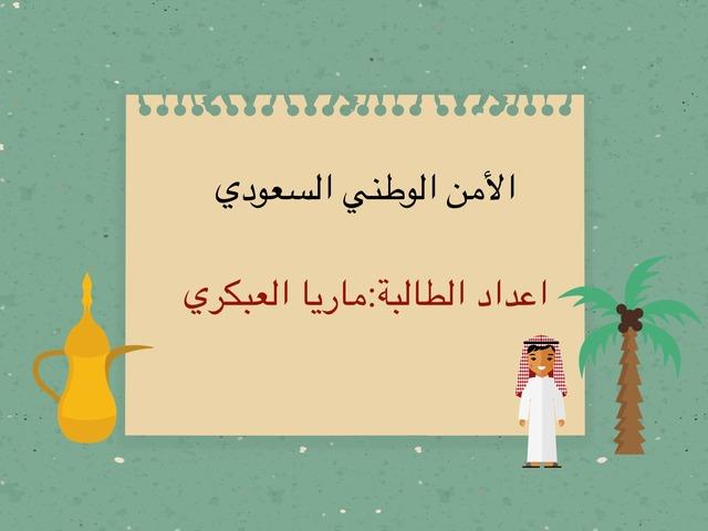 الأمن الوطني السعودي by Hassan Alabkary
