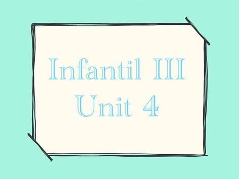 Infantil III - Unit 4 by Thais Baumgartner