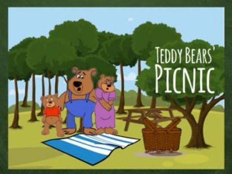 Teddy Bears Picnic by Ellen Weber