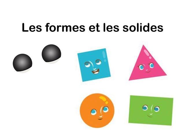 Les Formes Et Les Solides by Seve Haudebourg