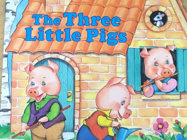 The Three Little Pigs by Evie Dencklau