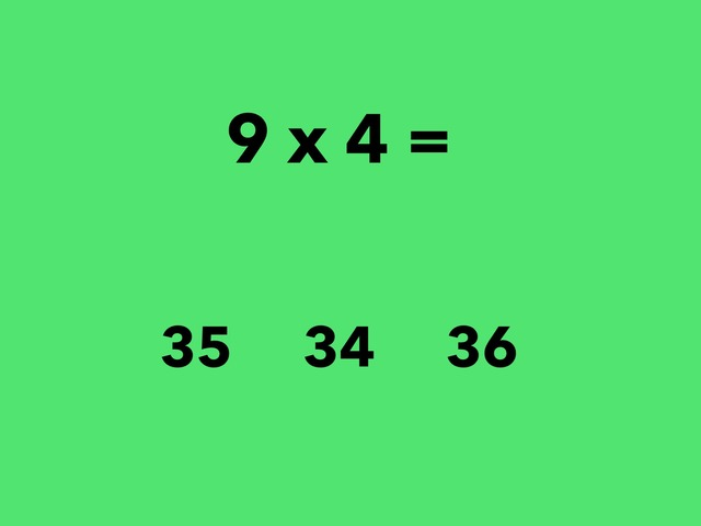 Multiplication 9 Facts by Lori Board
